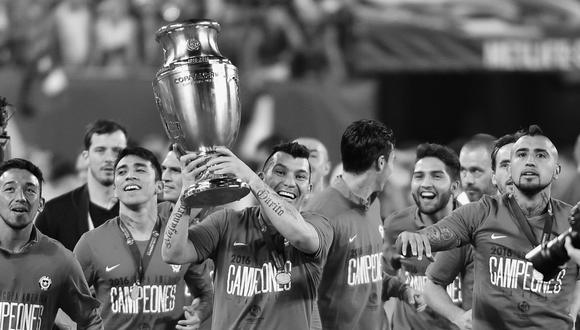 Chile campeón de la Copa América Centenario. (Foto: AFP)