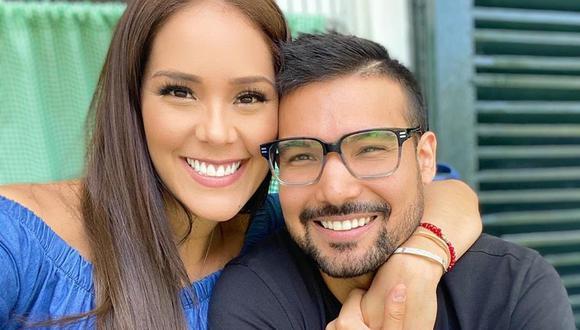 Karen Schwarz y Ezio Oliva son padres nuevamente. (Foto: Instagram)