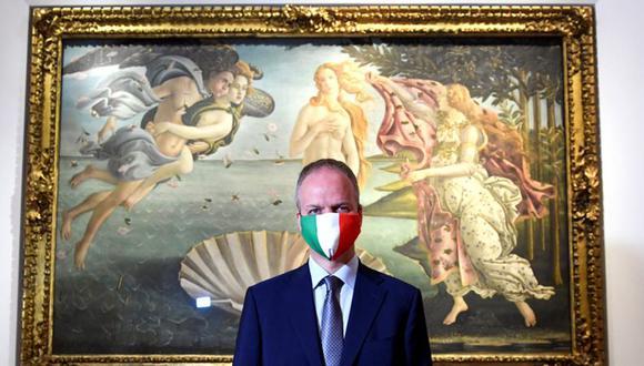 Un estricto distanciamiento social y el uso obligatorio de mascarillas están en vigor en los museos y galerías de Italia. (Reuters).