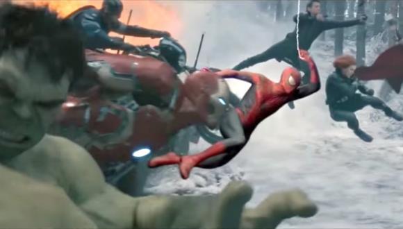 YouTube: superhéroes y villanos juntos en fan tráiler de Marvel