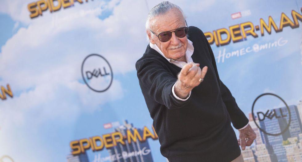 Stan Lee creó al héroe Spider-Man junto a Steve Ditko. (Foto: AFP)