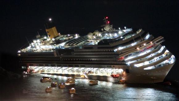 Hallan más restos humanos en el crucero Costa Concordia