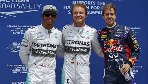Nico Rosberg es el líder del campeonato con 122 puntos, cuatro más que Hamilton (Foto: DPPI)
