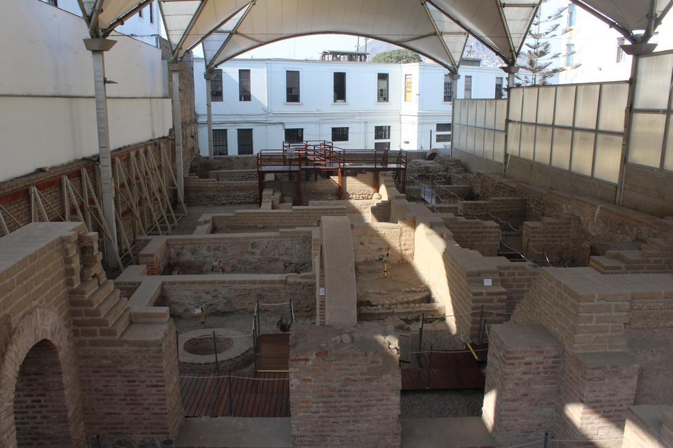 Antiguamente el espacio del Museo de Sitio Bodega y Quadra, fue una carnicería y matadero de la colonia (inicios del siglo XVII). (Foto: El Comercio)