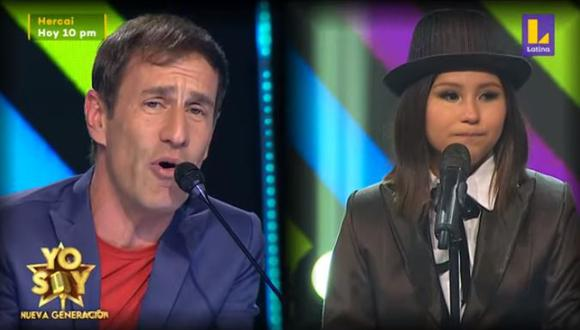 Mauri Stern se conmovió hasta las lágrimas tras escuchar a 'Laura Pausini'. (Foto: captura de video)