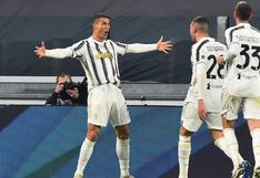 El doblete de Cristiano Ronaldo para el triunfo de Juventus sobre Cagliari por la Serie A | VIDEO
