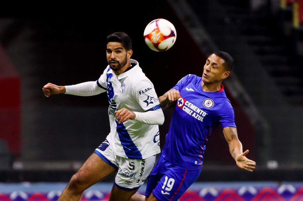 Cruz Azul enfrentó a Puebla por la Liga MX
