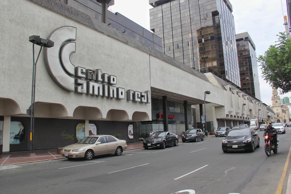 La fachada y logotipo característico de este gigante sanisidrino. (Foto: Antonio Melgarejo)