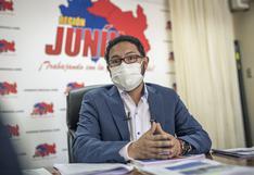 """Fernando Orihuela: """"En absoluto recibo órdenes de Cerrón, el gobernador regional de Junín soy yo"""""""