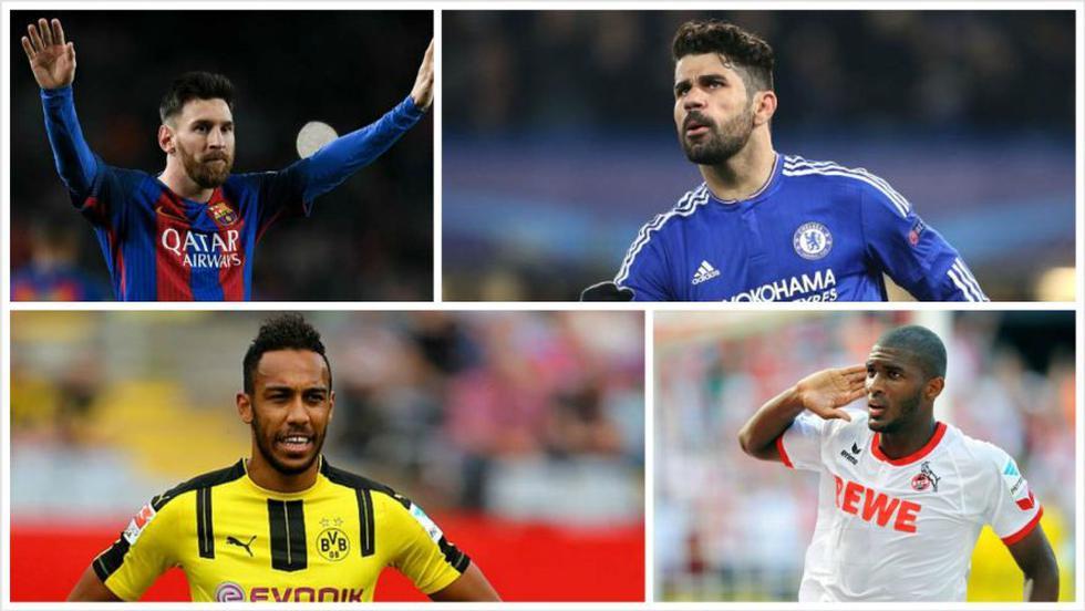Lionel Messi integra el top 10 de máximos artilleros de Europa - 1