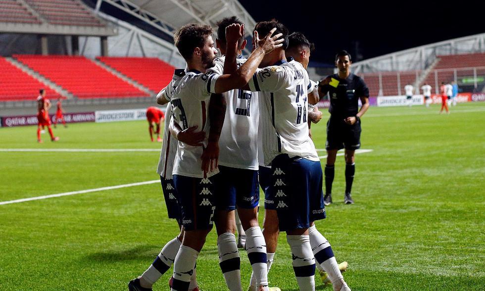 La Calera vs. Vélez: las imágenes del partido por la Copa Libertadores | Foto: EFE