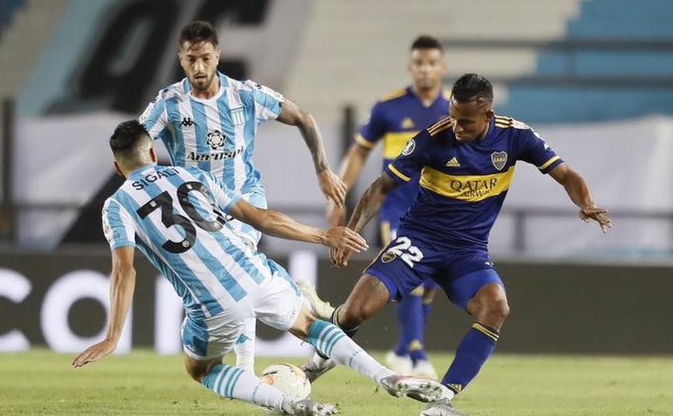 Boca Juniors vs. Racing (Twitter)