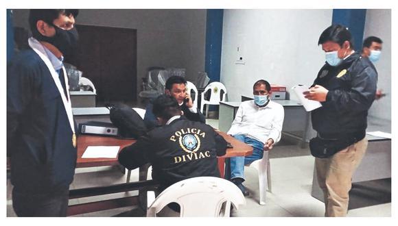 El pasado lunes, fue detenido en Huaraz el gobernador regional de Áncash, Juan Carlos Morillo. Se le investiga, entre otras cosas, por presuntos actos de corrupción en la remodelación de un ambiente para paciente con coronavirus en el Hospital Regional Eleazar Guzmán Barrón. (Foto: Ministerio Público)