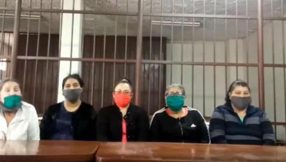 Los extranjeros fueron detenidos en diciembre del 2018 en el Aeropuerto Internacional Jorge Chávez. (Corte Superior de Justicia del Callao)