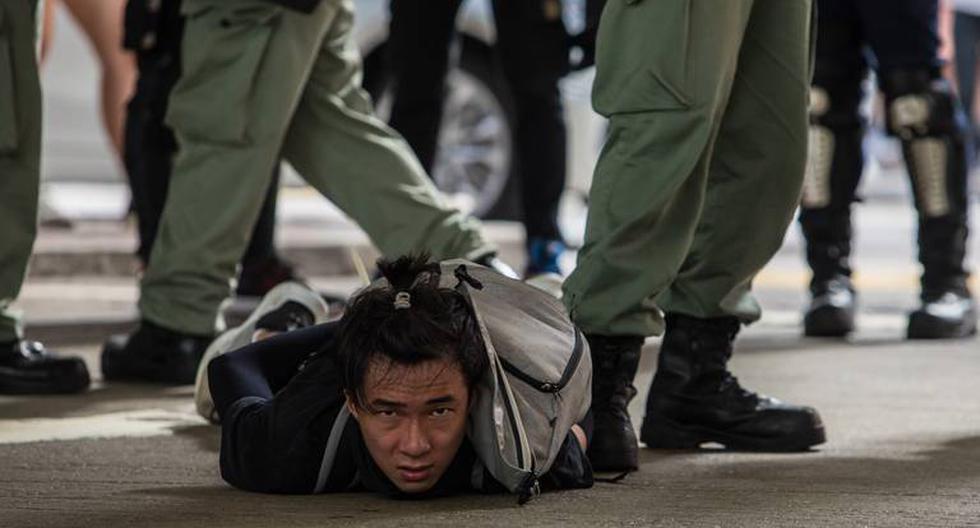 El Gobierno de China ha reprimido duramente las manifestaciones populares en Hong Kong, la mayoría de los manifestantes son jóvenes que apoyan la democracia. (Foto: AFP)