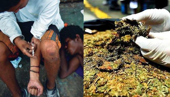 ¿Cuál es la droga que más se consume en Europa?