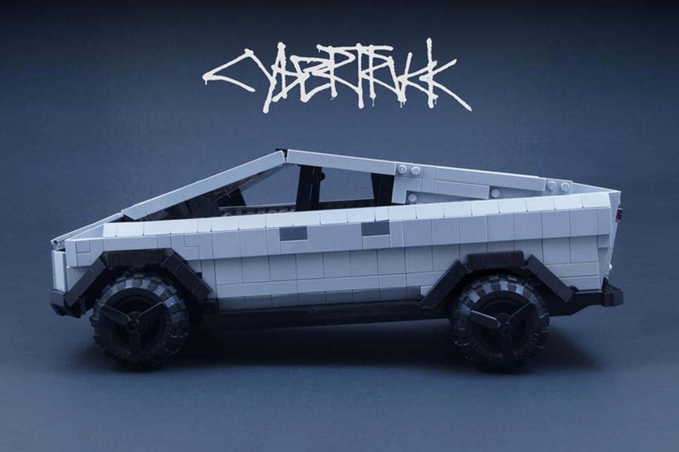 El Tesla Cybertruck está muy cerca de convertirse en set de Lego gracias a su creador BrickinNick. (Foto: ideas.lego.com)