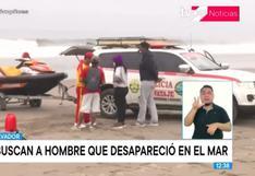 Villa El Salvador: buscan a extranjero que desapareció en el mar