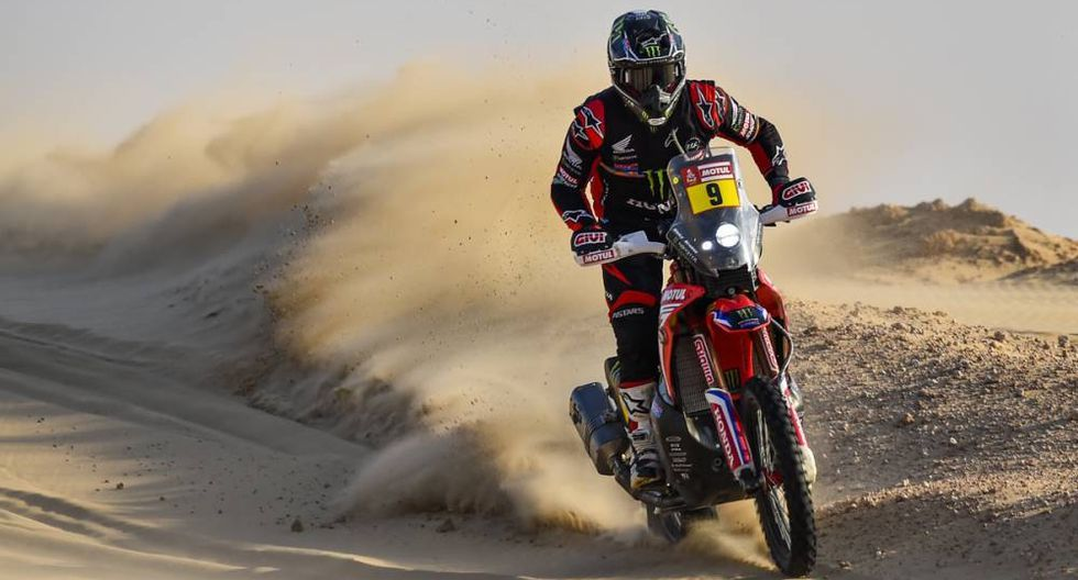 Ricky Brabec lidera la categoría de motos para Honda. (Foto: Dakar.com)