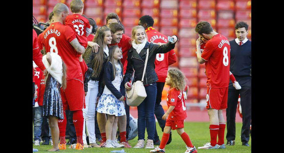 Steven Gerrard y su emotiva despedida del Anfield Road (FOTOS) - 21