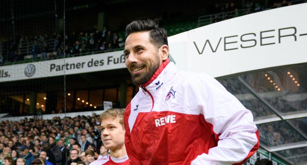 Colonia superó 2-0 a Bayer Leverkusen en el RheinEnergieStadion. El triunfo le permitió salir del último lugar y soñar con la permanencia. Claudio Pizarro, por su parte, fue pieza de recambio. (Foto: BILD)