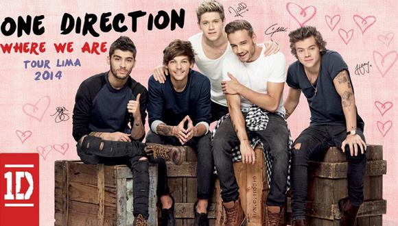 One Direction en Lima: El Comercio te regala el póster
