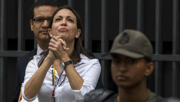 María Corina Machado: Maduro hace todo para destruir mi nombre