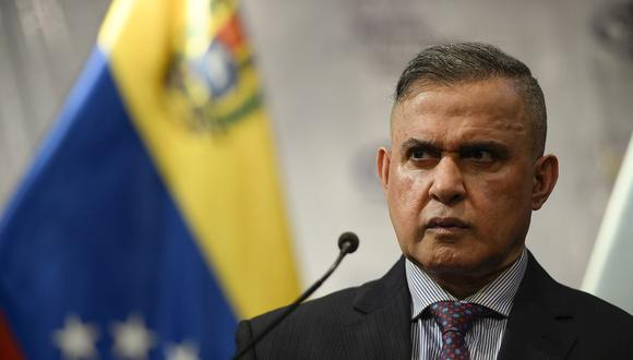 """""""Espía"""" estadounidense detenido en Venezuela será imputado por """"terrorismo"""", anuncia el fiscal general Tarek  William Saab. (Foto: Matias Delacroix / AFP)."""