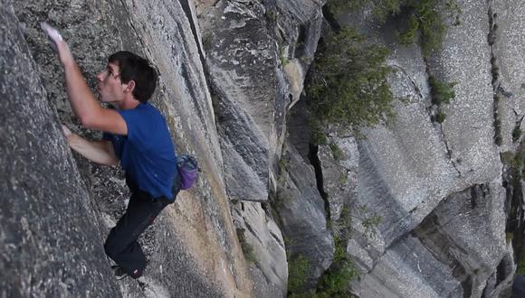 """Honnold: """"A veces siento miedo, pero es solo una parte del proceso"""". (Foto: National Geographic)"""