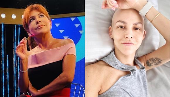 Magaly Medina envía mensaje a la actriz Anahí de Cárdenas. (Foto: Instagram)