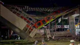 Tragedia en México: El miedo se apodera de pasajeros tras accidente en metro de Ciudad de México