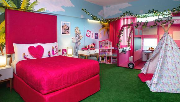 La habitación se empezó a trabajar desde abril de este año. Está pensada para conocer a Barbie en cada detalle.
