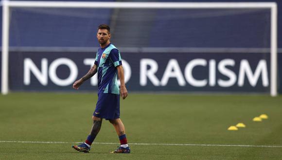 Lionel Messi no asistió al entrenamiento de Barcelona programado para el sábado. (Foto: AP)