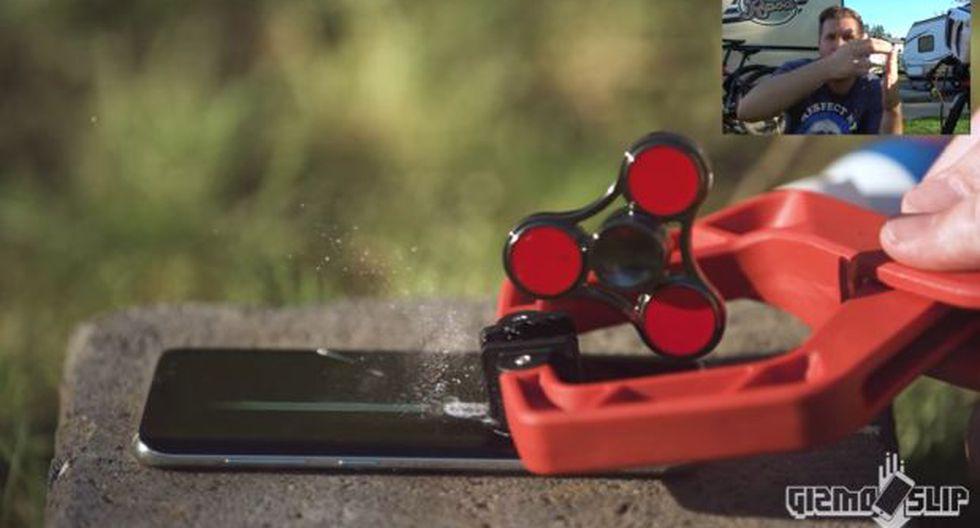 El Galaxy S8 es sometido a prueba extrema con un 'spinner'