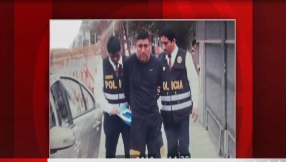 Billy Martel Alcarraz se encontraba prófugo de la justicia desde hace diez meses. (Captura: América Noticias)