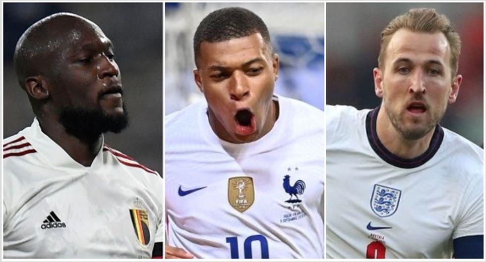 Los 10 jugadores más caros de la Eurocopa 2020. (Foto: AFP)