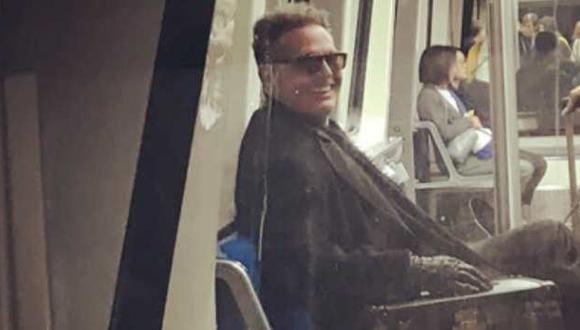Luis Miguel no utilizó el transporte público de España. (Foto: Captura Twitter)