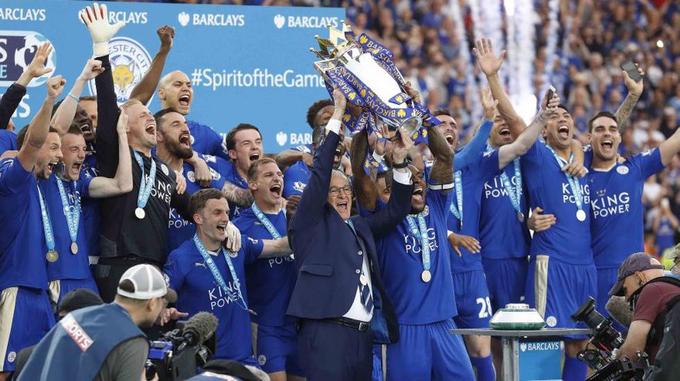 Leicester City: el increíble momento en que levanta la Copa - 4