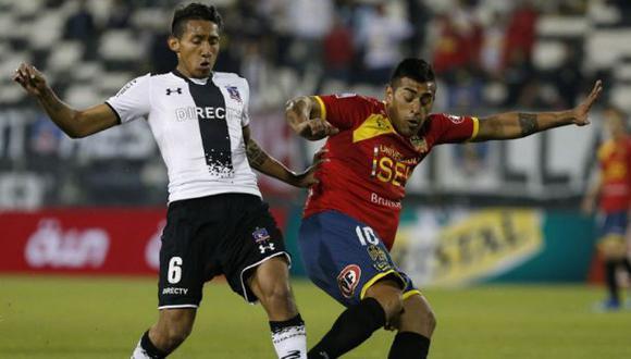 Christofer Gonzales fue titular en goleada de Colo Colo