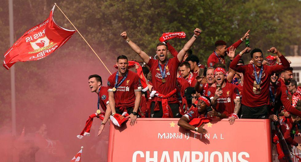 """""""Liverpool campeón de Europa y de la eficacia"""", por Jorge Barraza. (Foto: AFP)"""