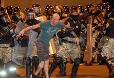 EN VIVO | La policía reprime manifestaciones tras cuestionadas elecciones presidenciales en Bielorrusia | FOTOS