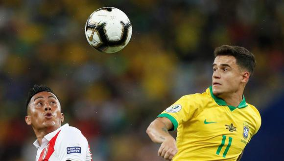Perú y Brasil jugarán a las 7:00 de la noche en el Estadio Nacional. (Foto: EFE)