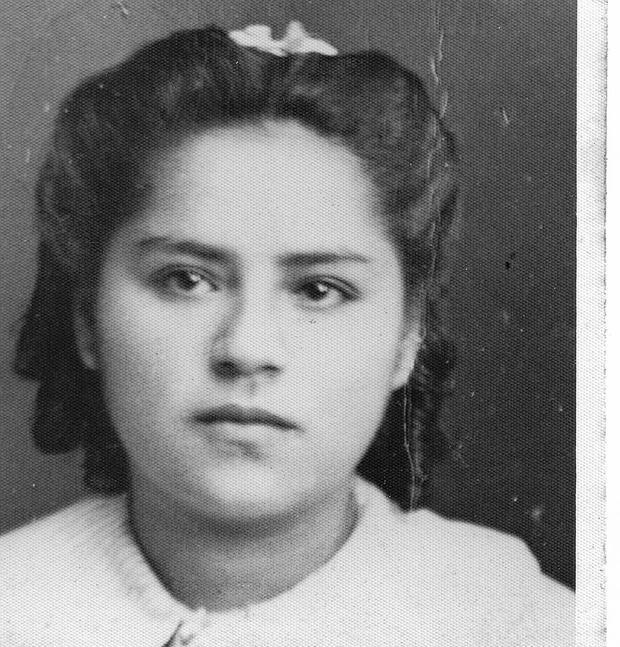 Antonia Luzmila Rivas López a los 18 años. (FOTO: Causa Aguchita)