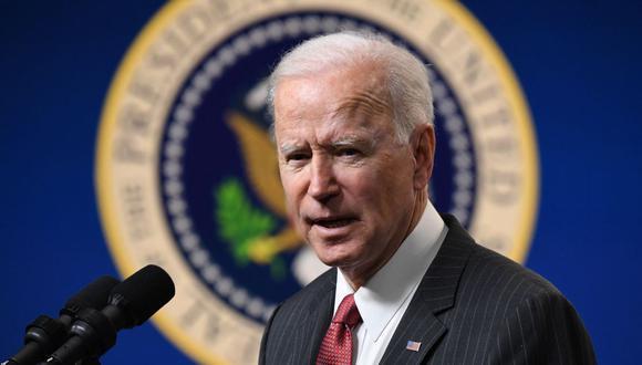 Joe Biden: La reforma migratoria para garantizar la ciudadanía a 11 millones de indocumentados inicia el trámite en el Congreso de Estados Unidos. (Foto: SAUL LOEB / AFP).