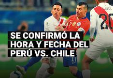 Perú vs. Chile: fecha y hora confirmada del partido por la jornada 3 de las Eliminatorias rumbo a Qatar 2022