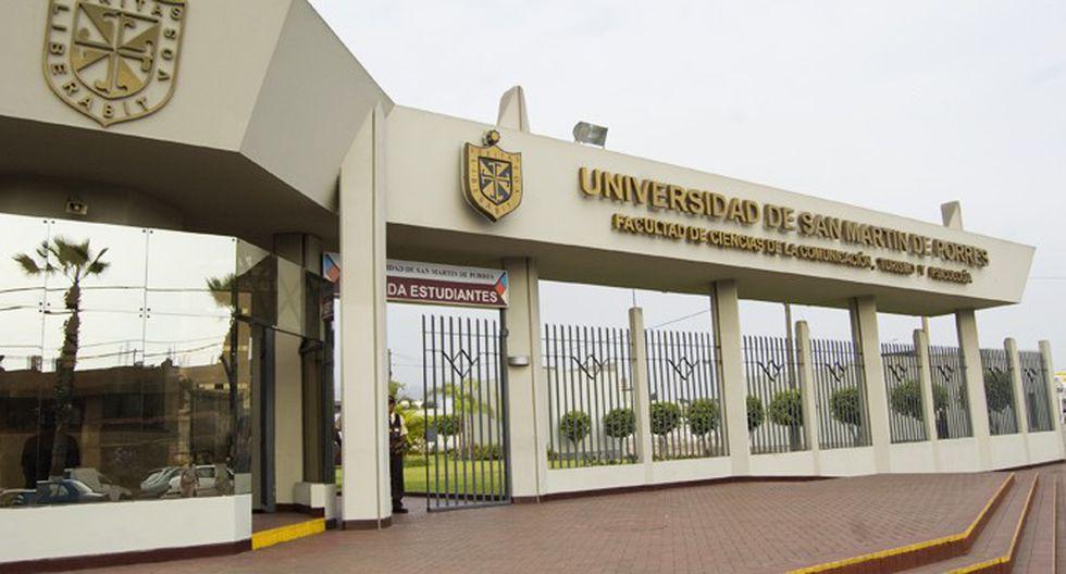 En el décimo lugar, se encuentran los egresados de la Universidad de San Martín de Porres con un ingreso mensual promedio de S/2.340 (Foto: USMP)