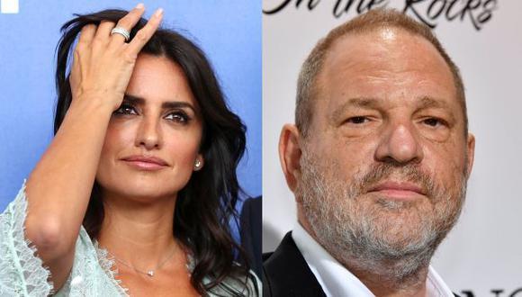 La actriz Penélope Cruz arremetió contra el productor Harvey Weinstein, acusado de supuestos acosos sexuales. (Fotos: Agencias)