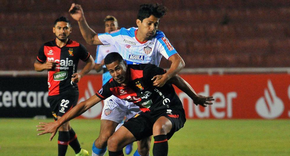 Melgar vs. Junior: imágenes del partido. (Foto: AFP)