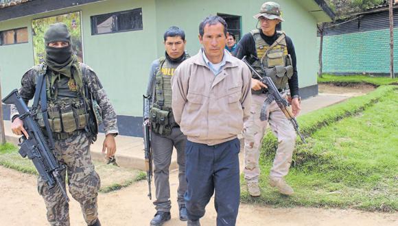 Aparentaba ser un humilde comunero del caserío de Paccay, pero Gregorio Murillo había hecho de su rústica vivienda un fortín para armamento y acopio de droga. (Foto: Junior Meza).