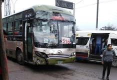 Veinte heridos por choque de dos buses del corredor verde sin autorización | #NoTePases